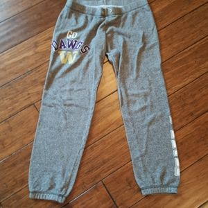 PINK victoria secret college collection joggers